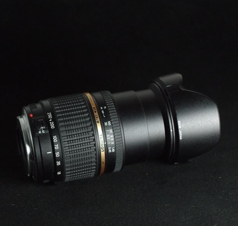 Tamron AF 18-250mm F/3.5-6.3 Di- II pro Canon