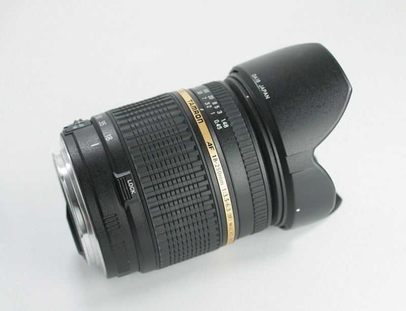 Tamron AF 18-250mm F/3.5-6.3 Di- II pro Canon TOP